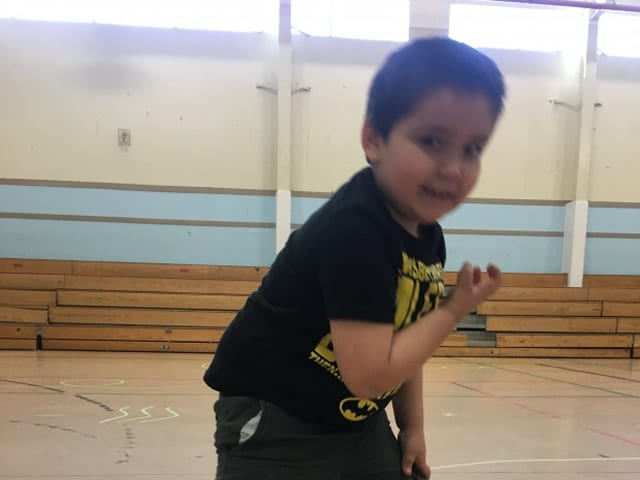 """When you guys are here, it's like a different flavor, and it tastes yummy!"" said community member Gabriel, aged five years, as he danced like an eagle, turtle, and polar bear and learned musical skills during an ArtsCan Circle workshop."