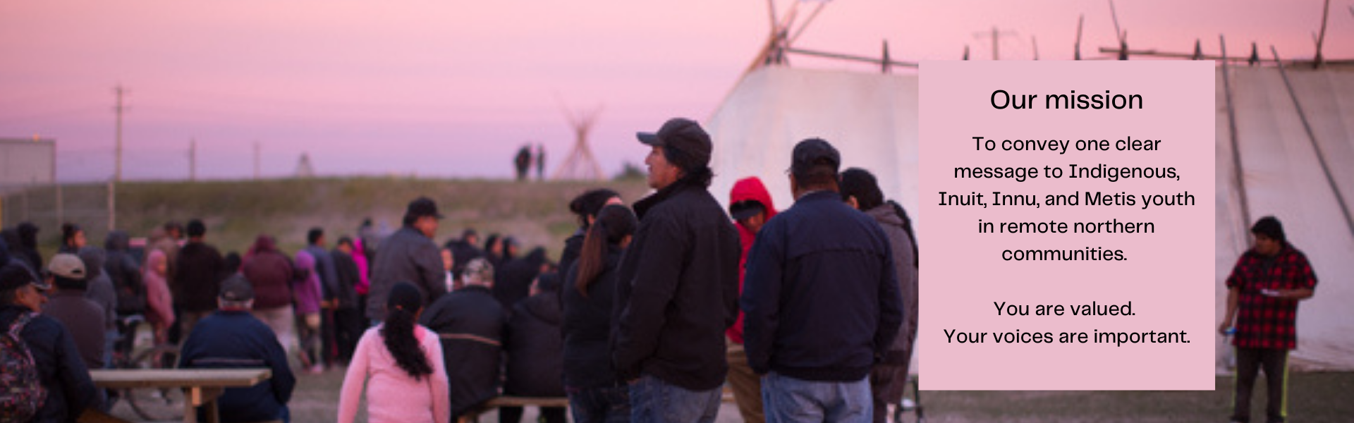 ArtsCan Circle—a registered charity dedicated to confronting the multiple realities and inequalities facing First Nations, Innu, Inuit and Métis youth in remote, Northern communities.